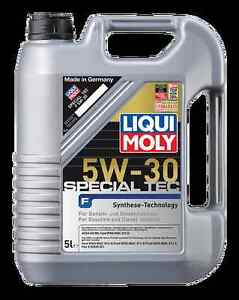 liqui moly special tec ll 5w30 fully synthetic long life. Black Bedroom Furniture Sets. Home Design Ideas