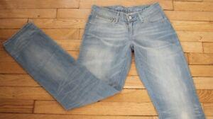 Détails sur LEVIS 580 Jeans Femme W 28 L 32 Taille Fr 38 Neuf Straight leg (Réf #A158)