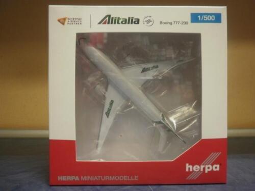Herpa Wings 1:500 Boeing 777-200 Alitalia 530118