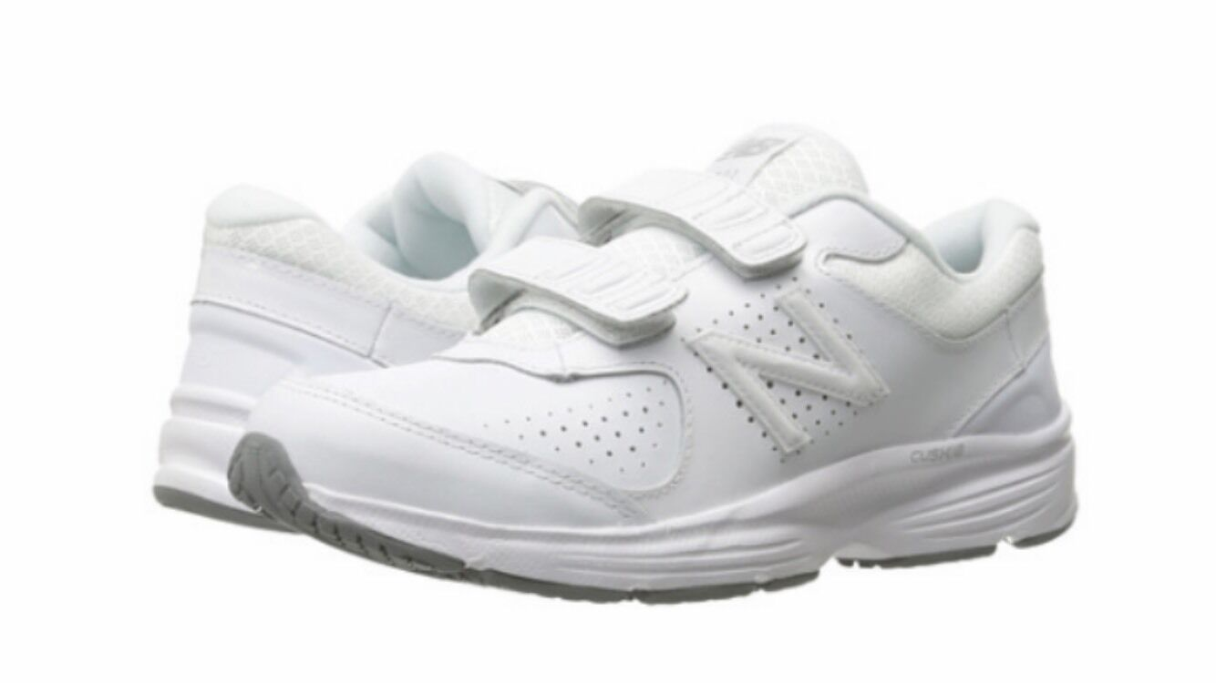 NEW WOMENS New Balance WW411HW2 WHITE Walking Shoe 2A Narrow Size 11