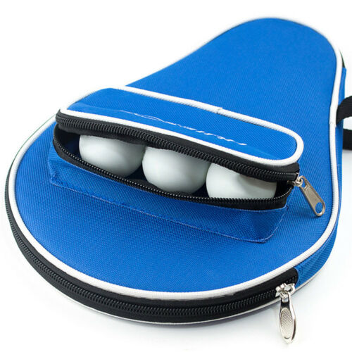 Waterproof Table Tennis Racket Ping Pong Paddle Bat Bag Pouch Case Cover