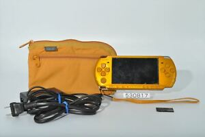 Very-good-SONY-PSP-3000BY-PSP-3000-Bright-Yellow-Playstation-portable-4GB-530817