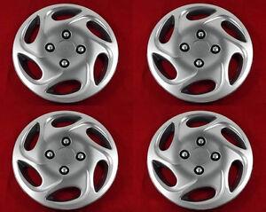 4-piezas-Tapacubos-Tapacubos-MAX-pulgadas-14-034-Aspecto-De-Aluminio