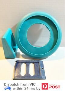 Poseidon MK2 Pool Cleaner Spare Parts Combo Pack Baffle Plate Flapper Foot Pad