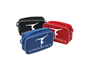Gymnastics Tappers And Pointers Gymnastics Dance Shoulder Bag Red Pink Blue Lilac And Black