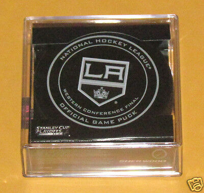LOS ANGELES KINGS 2014 Playoffs Western Conference Final OFFICIAL GAME PUCK NEW