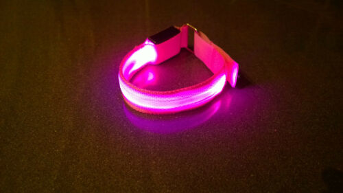 LED light Running Cycling Wristband Armband Runner/'s Night light Safety Outdoor