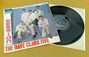 """"""" A SESSION WITH THE DAVE CLARK FIVE """" SUPER UK ORIGINAL MONO ONLY DC5 LP"""