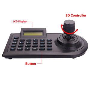 3D Pan/Tilt PTZ Zoom Controller Joystick Keyboard RS-485 for CCTV Camera DVR
