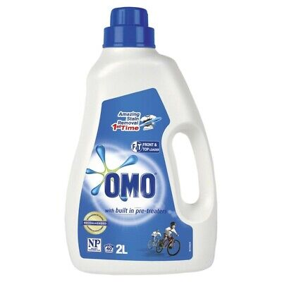 OMO Active Clean Pre-Treaters Top & Front Loader Laundry ...