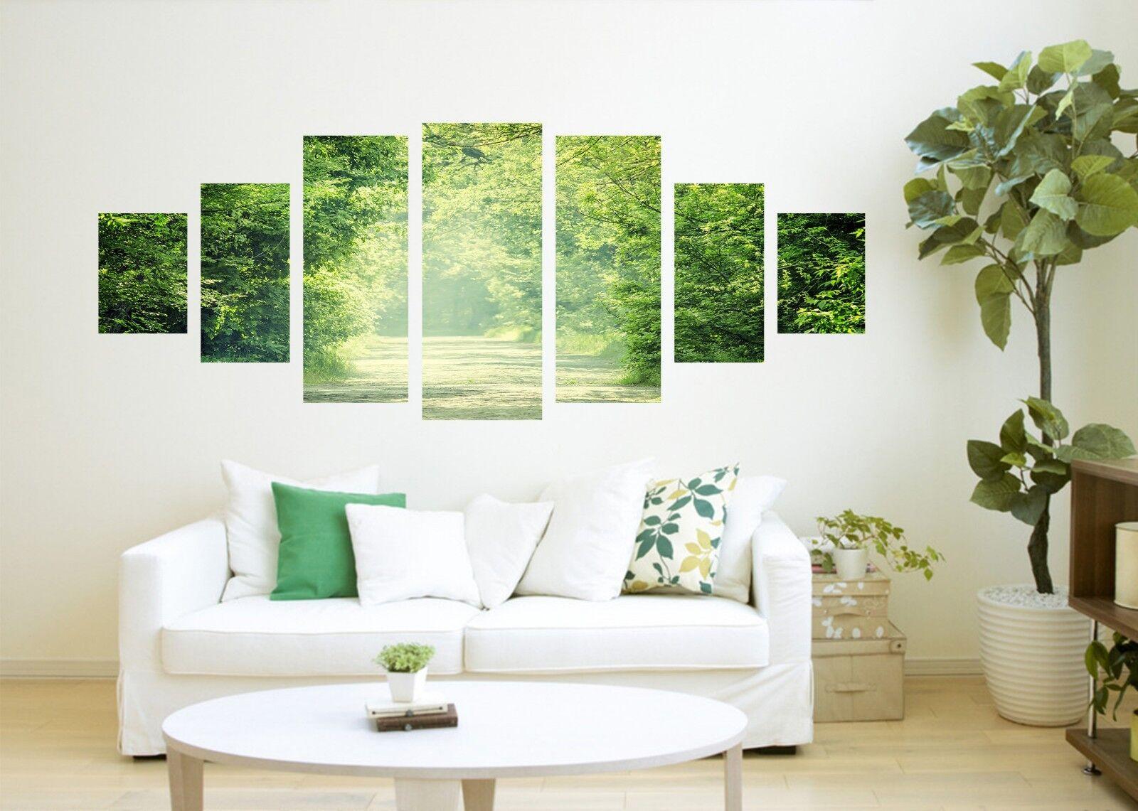 3D Forest Aisle 556 Unframed Drucken Wand Papier Decal Wand Deco Innen AJ Wand