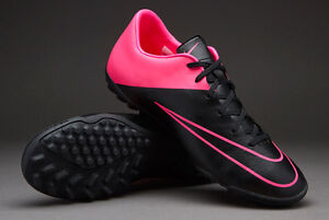 Image is loading Nike-Mercurial-Victory-V-TF-Black-Black-Hyper-