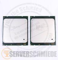 2x Intel XEON E5-2670 SR0KX Octa Core CPU 8x 2,60 GHz 2011 Matched Pair