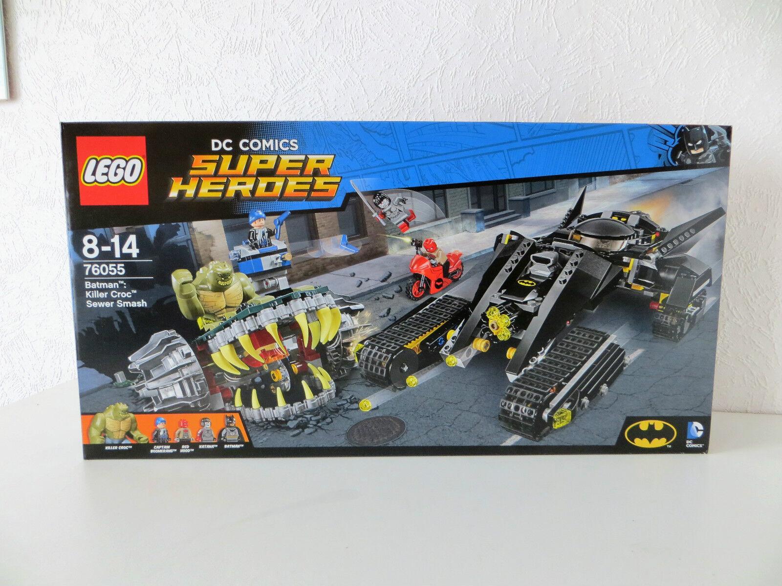 Lego Super Heroes 76055 Batman Killer Crocs Überfall in der Kanalisation