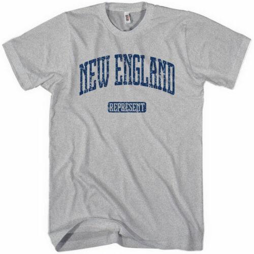 NEW ENGLAND Represent Women/'s T-shirt Boston Providence NH CT Patriots S-2XL