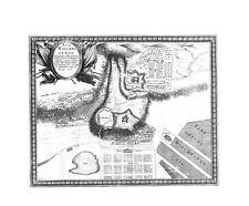 Antique map, Arx Wischnizensis