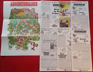 Adventureland Altoona Des Moines Iowa Ephemera Map Collection