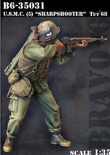 Bravo 6 USMC Marines Sharpshooter 35031 1/35 Model Unpainted kit