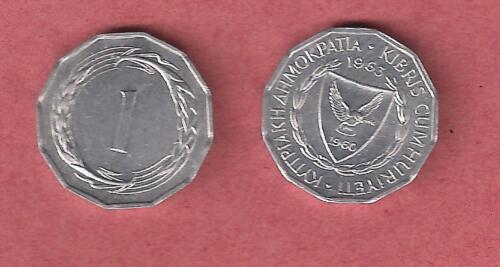 CYPRUS COIN 1 Mils 1963 UNCIRCULATED and PERFECT COIN