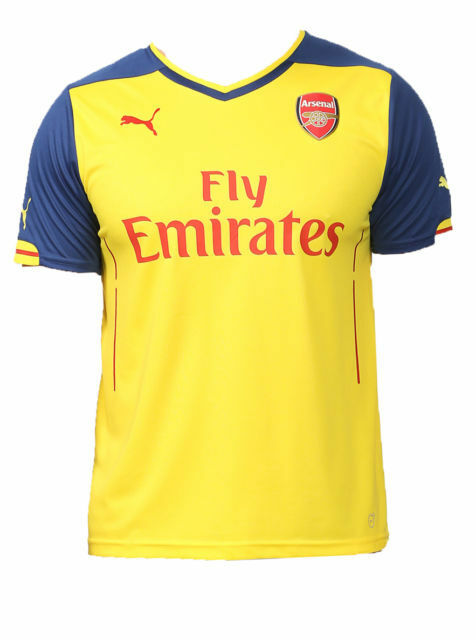 NWT XL Puma FC Arsenal London AFC Jersey Away Gunners dry cell 2014/15 746449 08