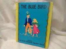 1938 Blue Bird Book Old French Fairy Tale & Fantasy Rare Salesman's Sample