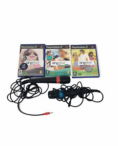 Singstar-Game-Bundle-80s-Popworld-Pop-Hits-Tested-And-Working-VGC