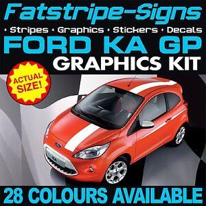 FORD KA MK2 ST STRIPES KIT GRAPHICS VINYL STICKERS DECALS VINYL GP ...