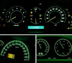 Details About Ford Explorer Mountaineer Headlight Instrument Panel Replacement Bulb Green Led