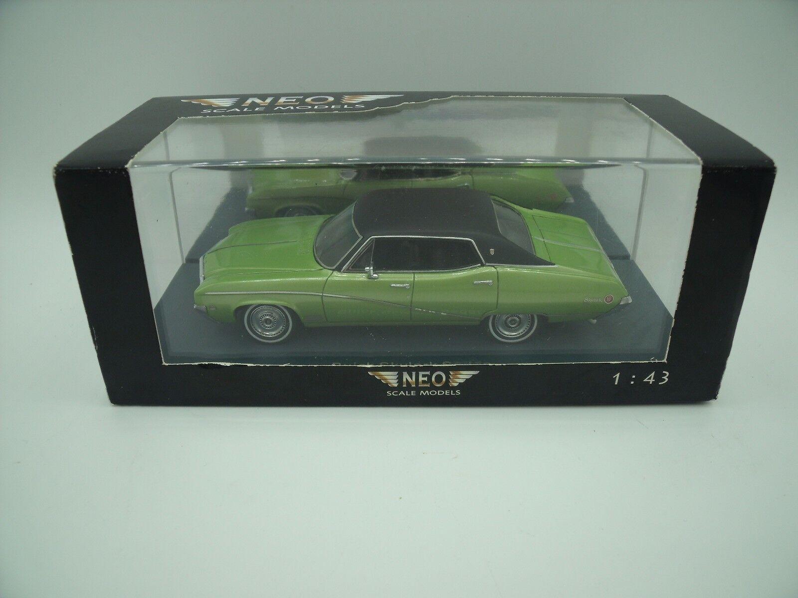 1 43 Neo Buick Skylark verde Negra verde nero MIB