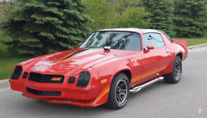 81 Camaro Z28 with T-top, 383 stroker, 4 speed