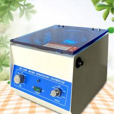Lab Centrifuge Hematocrit Microhematocrit High Speed Electric Centrifuge 110v