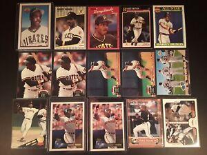 Barry-Bonds-15-Baseball-Card-Lot-San-Francisco-Giants-Pittsburgh-Pirates-NM-MT