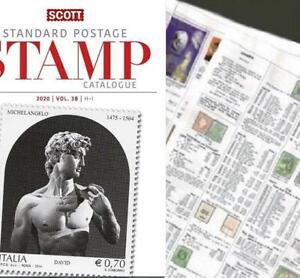 Intelligent Israël Remnant 2020 Scott Catalogue Pages 593-646-afficher Le Titre D'origine