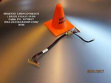 HISENSE LHDN32V66AUS  DX32L152A11 LVDS Cable PN: 1070037 HX2-2X15KLB200P-COM/RO
