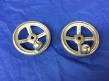 Sears Craftsman Table Saw Aluminum Crank Handle Adjustment handwheel Set 3/8