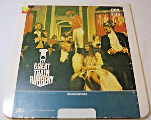 The-Great-Train-Robbery-Sean-Connery-CBS-FOX-CED-Video-Disc-videodisc-movie