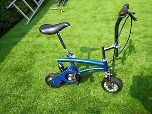 micro Bike Runt Mini circus Bicycle Stunt Clown brakes pocket travel monkey