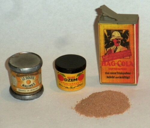 "1:6 scale WW II German Field Kitchen supplies set /""F/"""