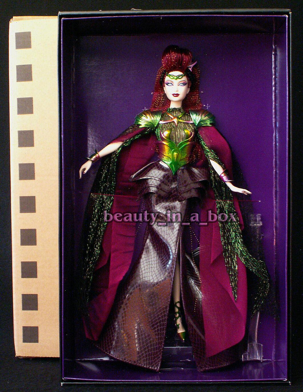 Emperatriz de los Aliens 2012 Barbie Collector Muñeca en Mattel en embarcador