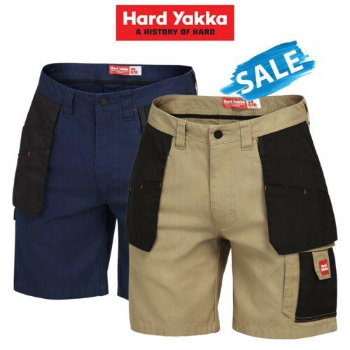 SALE Hard Yakka Legends Xtreme Ex Shorts Cargo Work Ultimate Tradie Drill Y05083