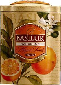 Basilur Magic Fruits   Black Tea With Tangerine Peel, Orange Flower by Basilur