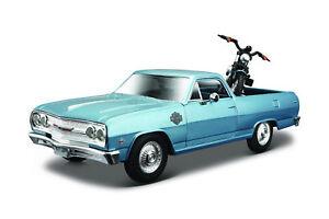 Harley-Davidson-2007-XL-1200n-Nightster-1-24-a-Chevrolet-El-Camino-1965-1-25