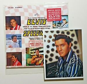ELVIS-PRESLEY-SPEEDWAY-FULL-COLOR-PHOTO-CD-as-1968-LP