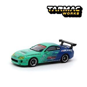 Tarmac-Works-1-64-Toyota-Supra-Falken-livery-Diecast-Model-Car