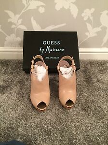 Guess By Marcianno Nude Heels Size 6 | eBay