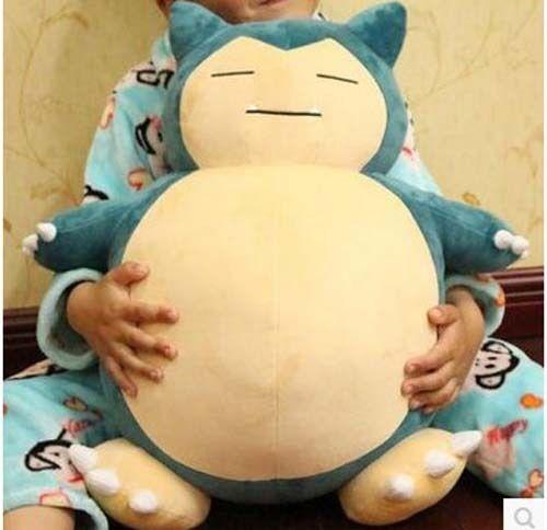 1231'' Pokemon GO Giant Snorlax Stuffed Plush Kabigon Doll Cosplay Toys Pillow