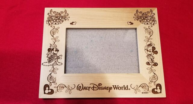 Disney Mickey & Minnie Mouse Wedding Picture Photo Frame 4x6 Bride ...