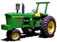 John Deere Model 60 canvas art print by Richard Browne farm tractor