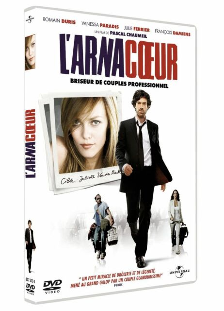 "DVD ""L'ARNACOEUR""   Romain Duris     NEUF SOUS BLISTER"