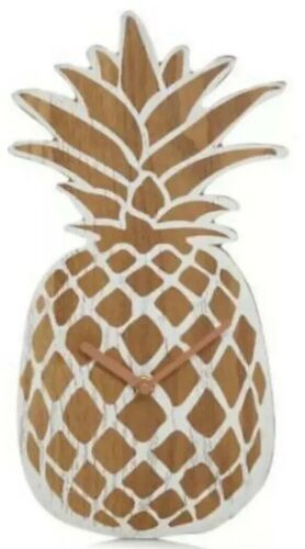 Pineapple-shaped Wall Clock Perfect for Dining Room or Kitchen George